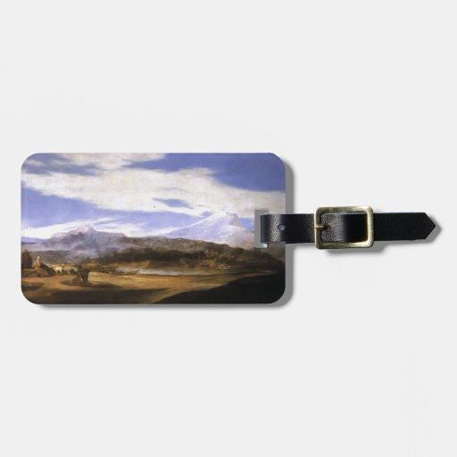 Jusepe de Ribera- Landscape with Shepherds Luggage Tags