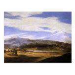 Jusepe de Ribera- Landscape with Shepherds Postcard