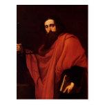 Jusepe de Ribera- Saint Paul Tarjeta Postal