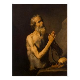 Jusepe de Ribera- St. Onuphrius Postcard