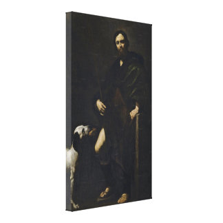 Jusepe de Ribera - St Roch Canvas Print