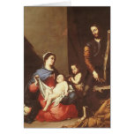 Jusepe de Ribera- The Holy Family Greeting Card
