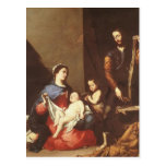 Jusepe de Ribera- The Holy Family Postcard
