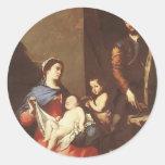 Jusepe de Ribera- The Holy Family Stickers