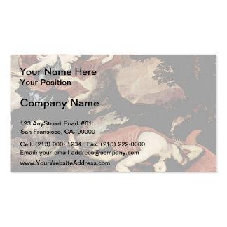 Jusepe de Ribera- Venus und Adonis Business Card Template