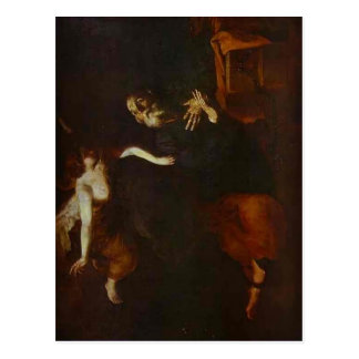 Jusepe Ribera-Deliverence of St. Peter, Prison Postcard