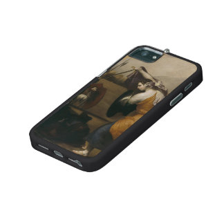 Jusepe Ribera- The Duel of Women iPhone 5/5S Cases