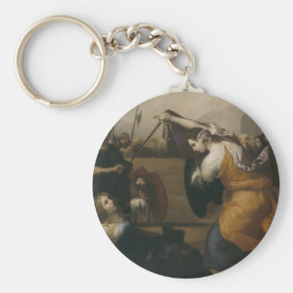 Jusepe Ribera- The Duel of Women Keychains