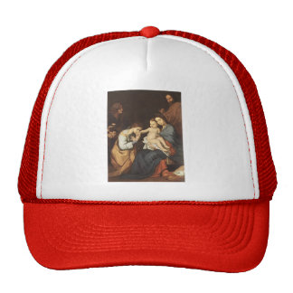 Jusepe Ribera- The Holy Family with St. Catherine Trucker Hat