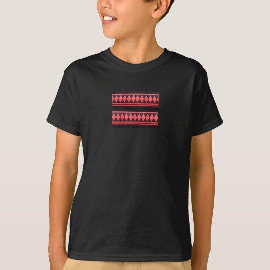 Jussi diamond shape stripe T-Shirt