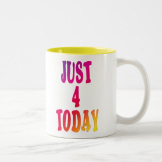 just4today taza de café de dos colores