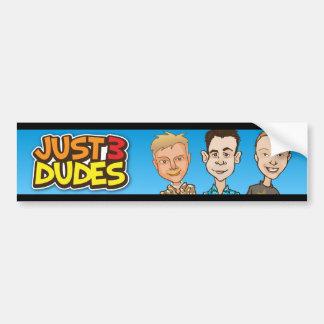 Just 3 Dudes Bumper Sticker