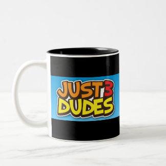 Just 3 Dudes Two-Tone Coffee Mug