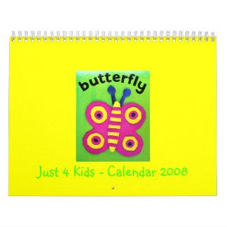 Just 4 Kids - Calendar 2008