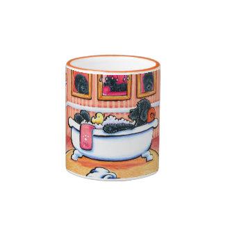 Just 5 More Minutes Ringer Mug