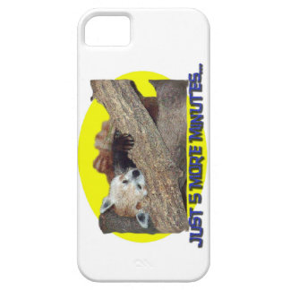 Just 5 More Minutes...Sleeping Red Panda iPhone SE/5/5s Case
