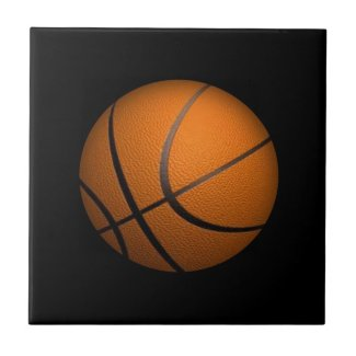 Just a Ball Basketball Sport Ceramic Tile