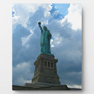 Just a beautiful picture of the Statue of Liberty Plaque