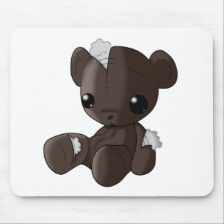 Just a Bit Broken Teddy Bear Mouse Pad