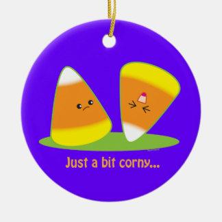 Just a Bit Corny Christmas Ornaments