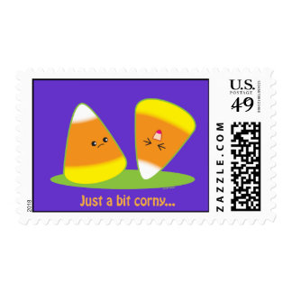 Just a Bit Corny Postage Stamps