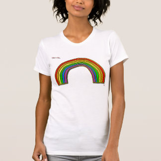 Just a bit... rainbow singlet tank tops
