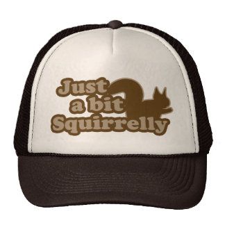 Just a bit Squirrely Hats