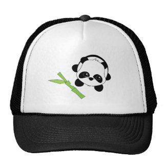 Just a Bite of Bamboo Trucker Hats
