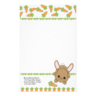 Just a Bite of Carrot Stationery