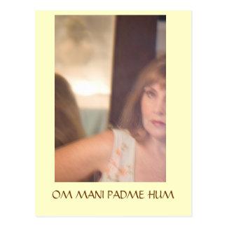 just a blur, OM MANI PADME HUM Postcards