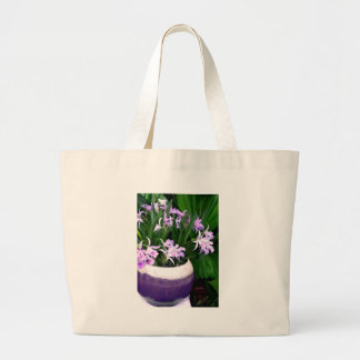 Just a Bowl of Cattleyas Large Tote Bag