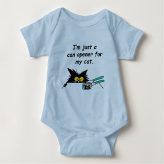 JUST A CAN OPENER FOR MY CAT TEE SHIRTS