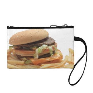 Just a classic hamburger coin wallets