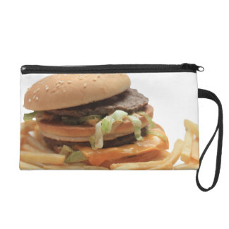Just a classic hamburger wristlet
