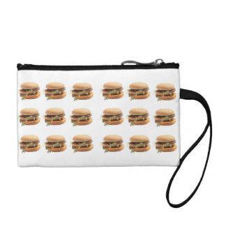 Just a classic hamburger change purses