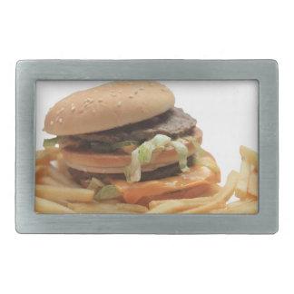Just a classic hamburger belt buckle