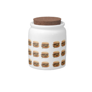 Just a classic hamburger candy dishes