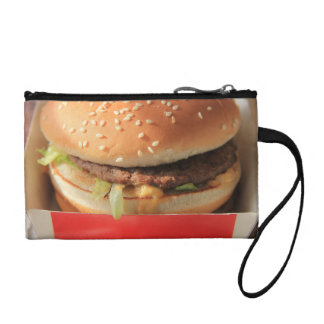 Just a classic hamburger change purse