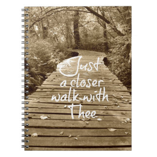 Just a Closer Walk With Thee Hymn Note Book
