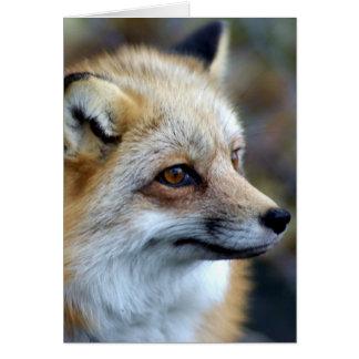 Just a cute little Fox Card
