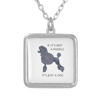 JUST A DOG CUSTOM NECKLACE