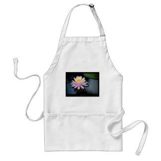 Just a flower – Pink waterlily flower 037 Adult Apron