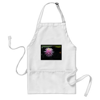 Just a flower – Waterlily flower 017 Adult Apron