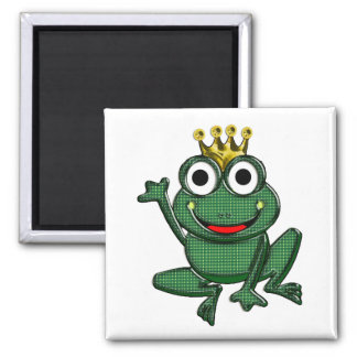Just a Frog or Mr. Right 2 Inch Square Magnet
