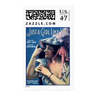 Just A Girl Like You Postage