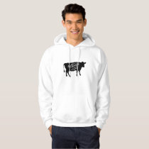 Just A Girl Who Loves Cows Women Hoodie