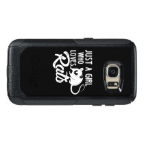Just A Girl Who Loves Rats, Rat Gift, Rat Lover OtterBox Samsung Galaxy S7 Case