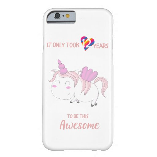 Just a girl who loves unicorn barely there iPhone 6 case