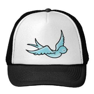 Just a Little Blue Bird Trucker Hat