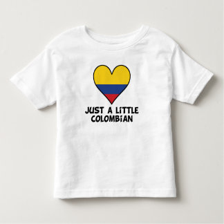 Just A Little Colombian Toddler T-shirt